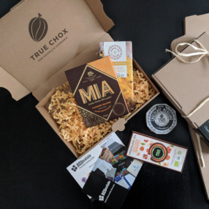 Craft chocolate subscription