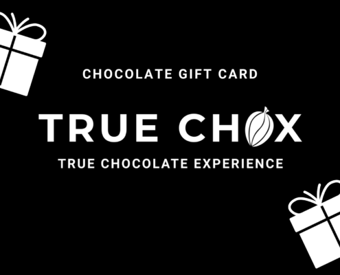 Craft chocolate gift card