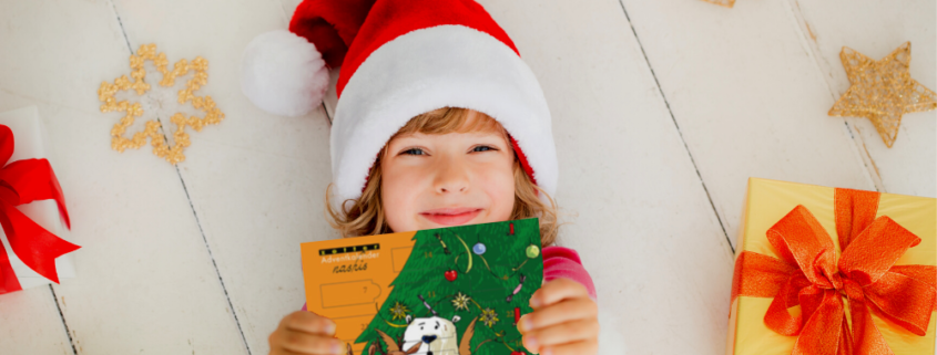 Chocolate Christmas gift advent calendar