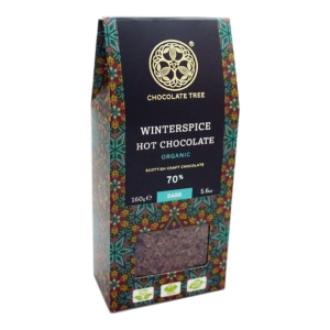 Chocolate tree winter spices hot chocolate
