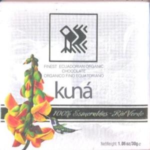 Kuna chocolate 100 rio verde esmaraldas