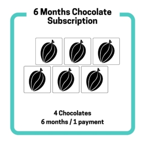 6-Months craft chocolate subscription