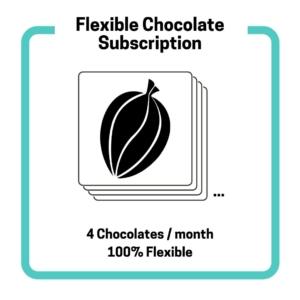 Craft chocolate subscription flex